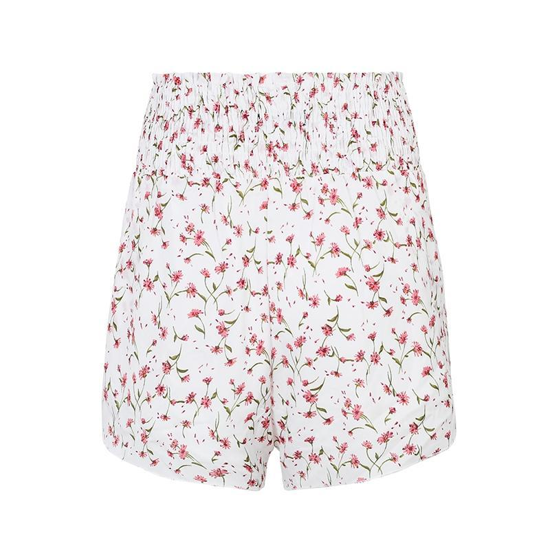 Marta Floral Print Shorts | Bohemian Fashion Clothing | Bijou Blossoms