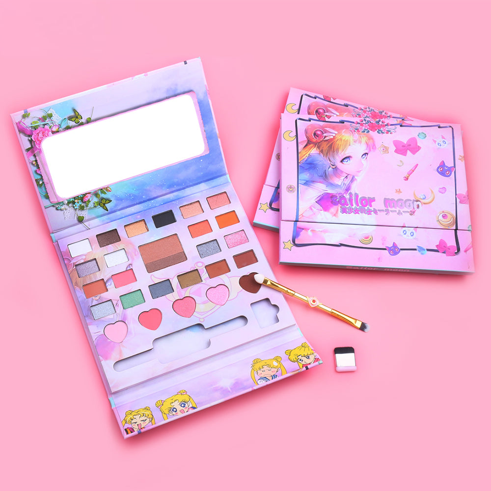 Sailor Moon Eyeshadow Makeup Palette | Kawaii Beauty | Bijou Blossoms