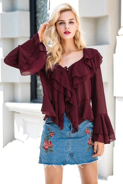 Rory Ruffled Blouse