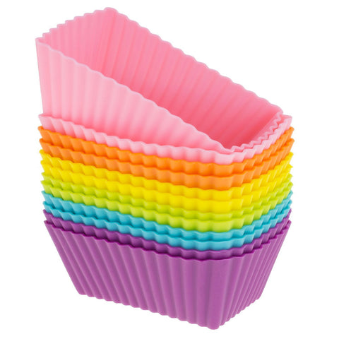 retangle silicone baking cup