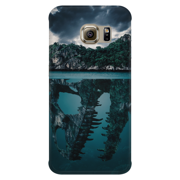 Mysterious Island Cell Phone Case for Galaxy S and iPhones