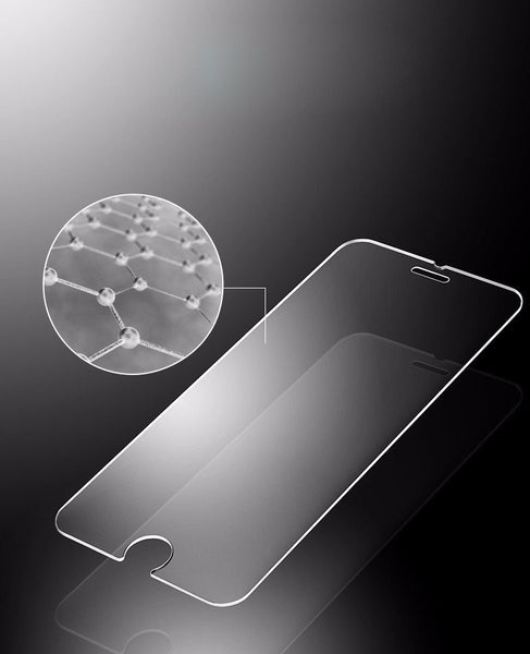 iPhone 9H tempered glass screen protector 10 pack with anti shatter technology.