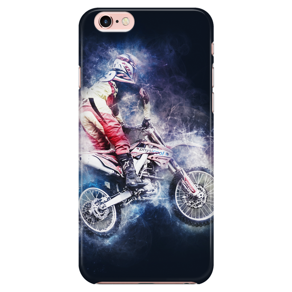 Moto Racing Cell Phone Case for Galaxy S and iPhones