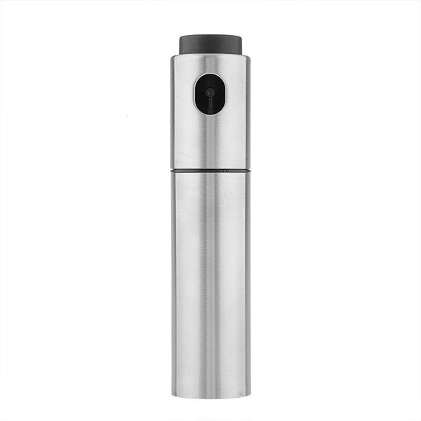 Silver Stainless Steel Fine Mist Olive Oil Sprayer