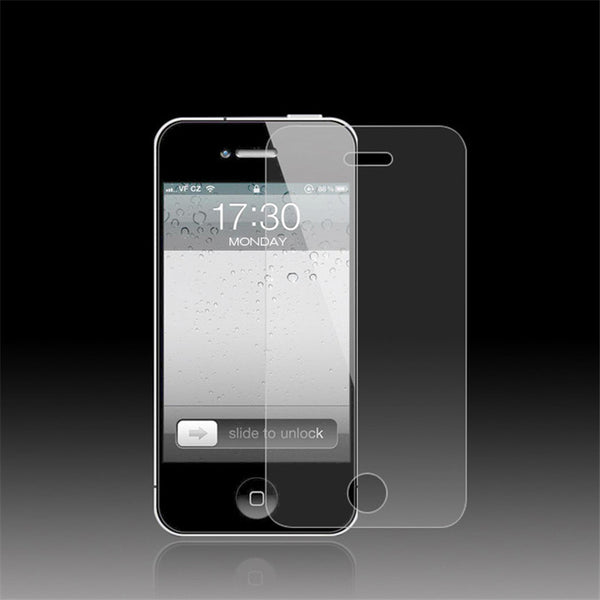 iPhone 4 4s 9H 0.3mm 2.5d tempered glass screen protector 10 pack