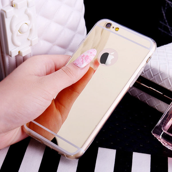 High quality Gold soft case for your iphone made with TPU + PC