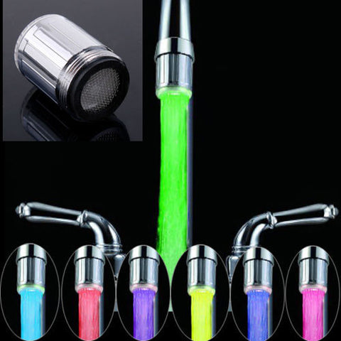 LED Water Faucet Light - 7 Colors