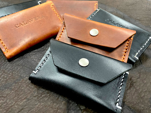 The Buxton - Hand-Stitched Card Wallet