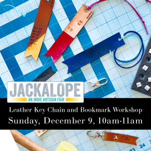Denver Craft Workshop with Berit Brooks Fine Leather at the Jackalope Art Fair, Denver, CO on December 9, 10-11am