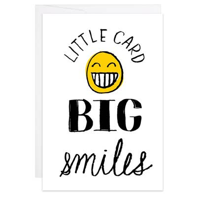 Little Card, Big Smiles - Mini Card