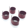 Napkin Rings-Button Closure (set of 4)