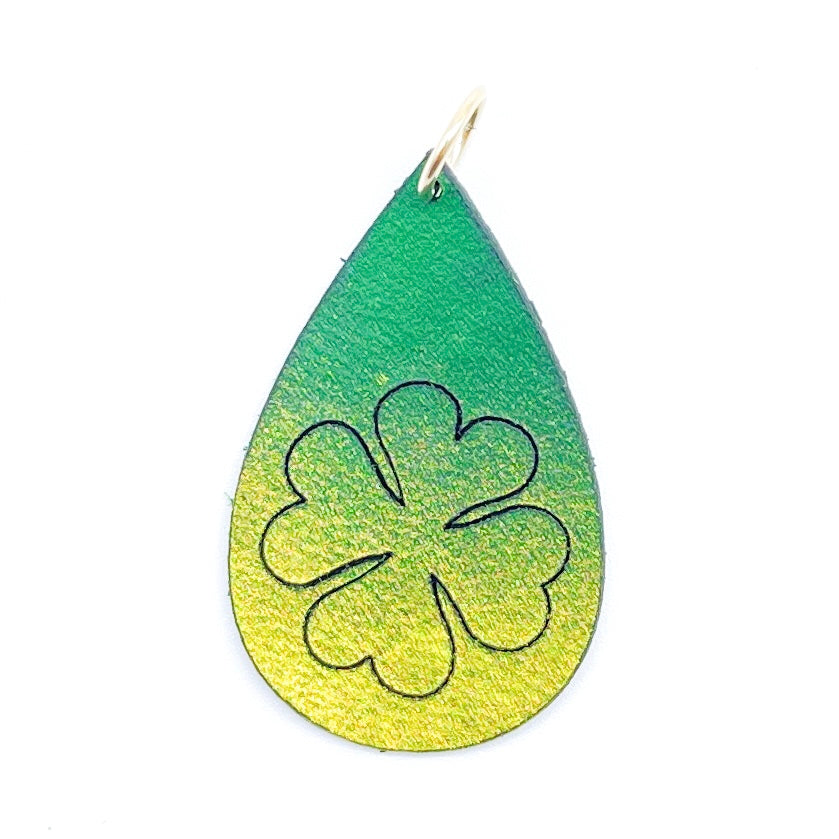 Four-Leaf Clover Earrings OR Pendant
