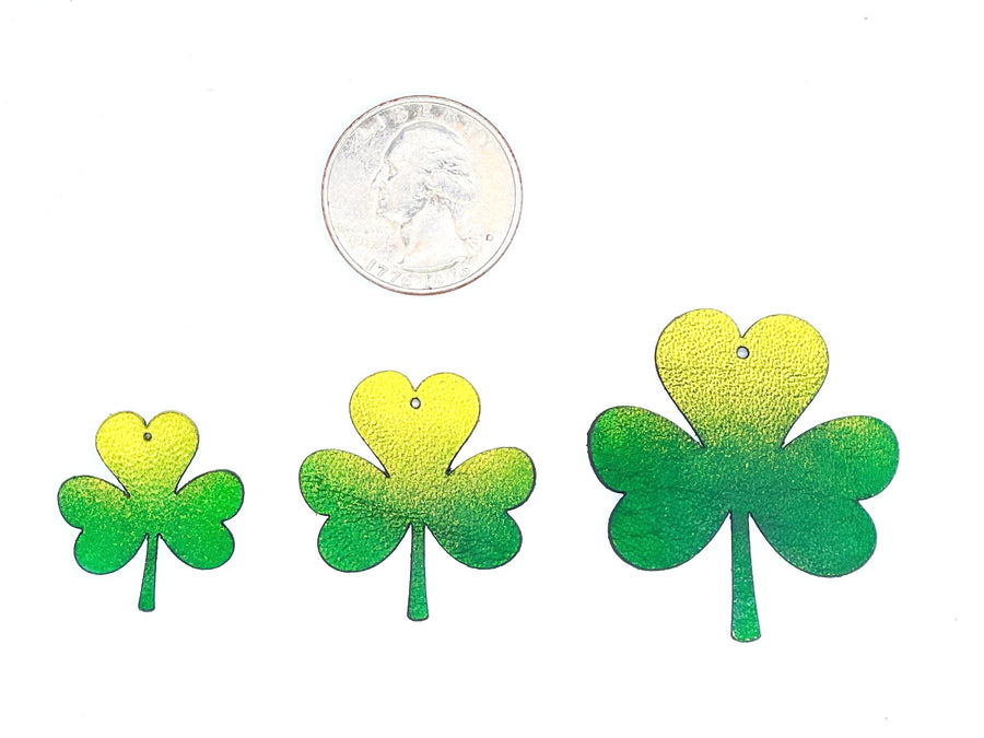 Three-Leaf Clover Earrings