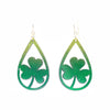 Three-Leaf Clover Earrings OR Pendant