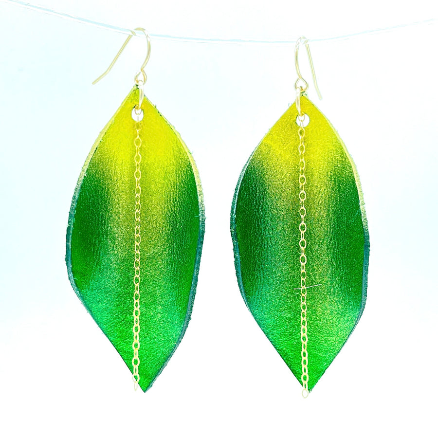 St. Patricks Day Wildwood Earrings