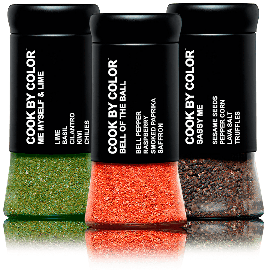 """STARTING 3' Set of Gourmet Seasoning Blends"