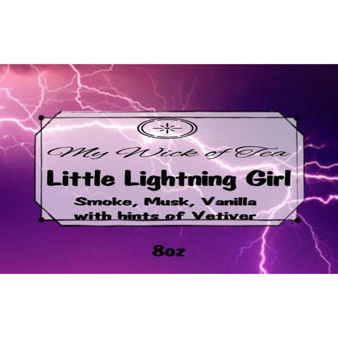 Little Lightning Girl-Red Queen Inspired