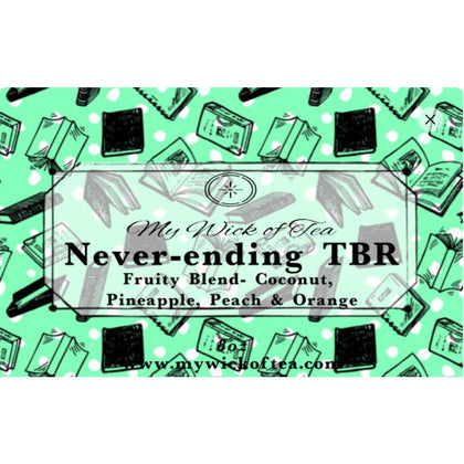 Never-ending TBR Candle