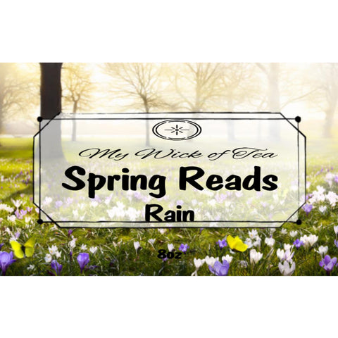 Spring Reads-Book Inspired Candle