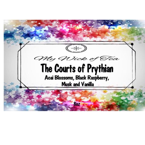 The Courts of Prythian-ACOTAR/ACOMAF/ACOWAR/ACOFAS Inspired candle