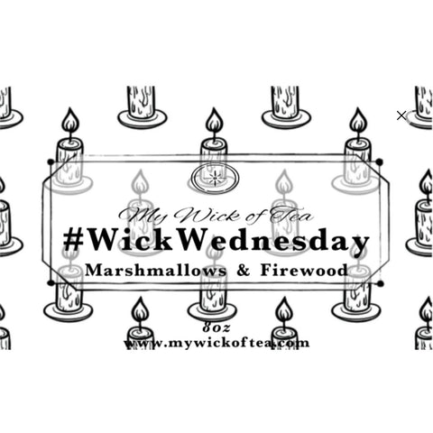 #WickWednesday Candle