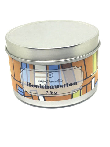 """Bookhaustion""-Book Inspired Candle"