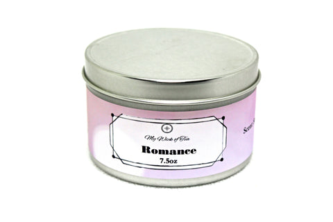 Romance-Book Inspired Candle