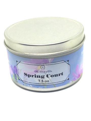 Spring Court- A Court of Thorns and Roses Inspired Candle