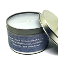 Tall, Dark and Handsome-Book Inspired Candle