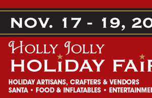 New event!  Holly Jolly Holiday Fair at Anderson Civic Center 11/17 to 11/19