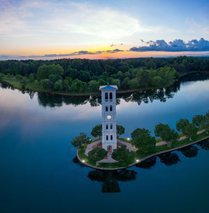 Furman Aerial Sunset