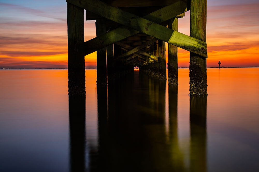 Safety Harbor Pier at Sunrise