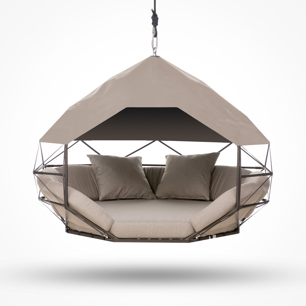 Hanging Lounger Sun Shade