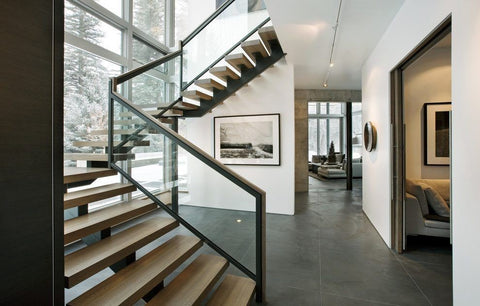 Glass Casement Handrail, Railing