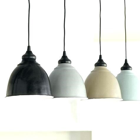 Metal and Ceramic Pendant Lights