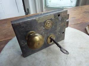 Antique Rim Lock