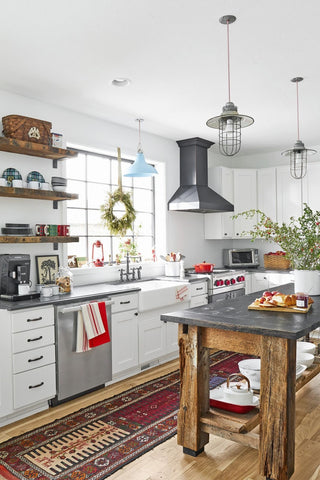 Farmhouse Industrial Rustic Kitchen