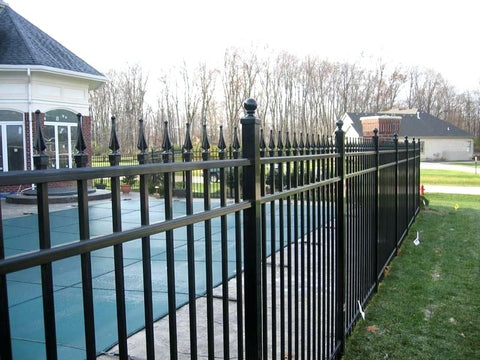 Spear and Ball Fence