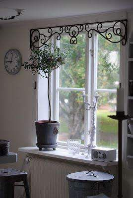 Decorative Window Valances Wrought Iron