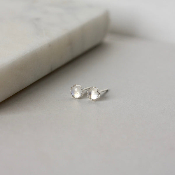 Long Sterling Silver Herkimer Diamond Earrings