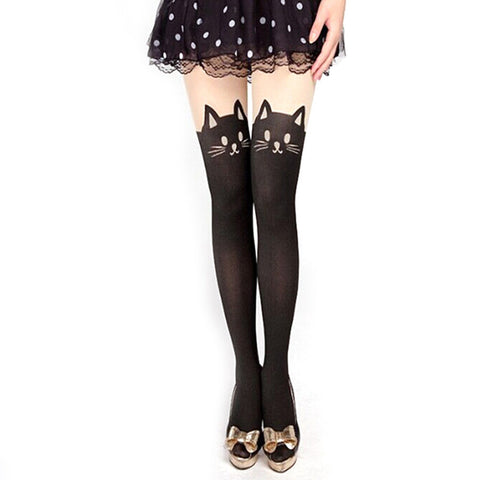 Cute Cat Tail Tights