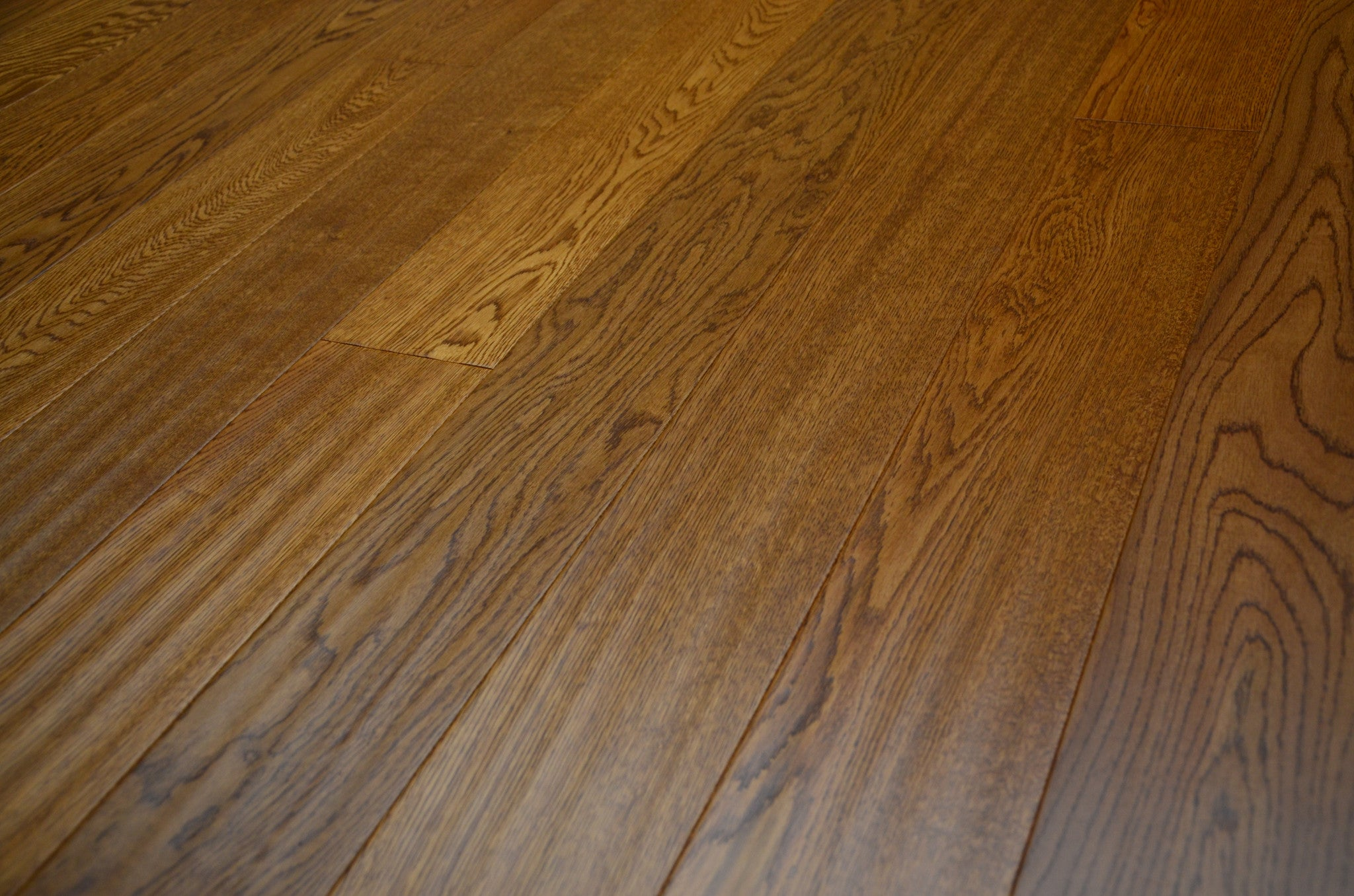 golden oak flooring
