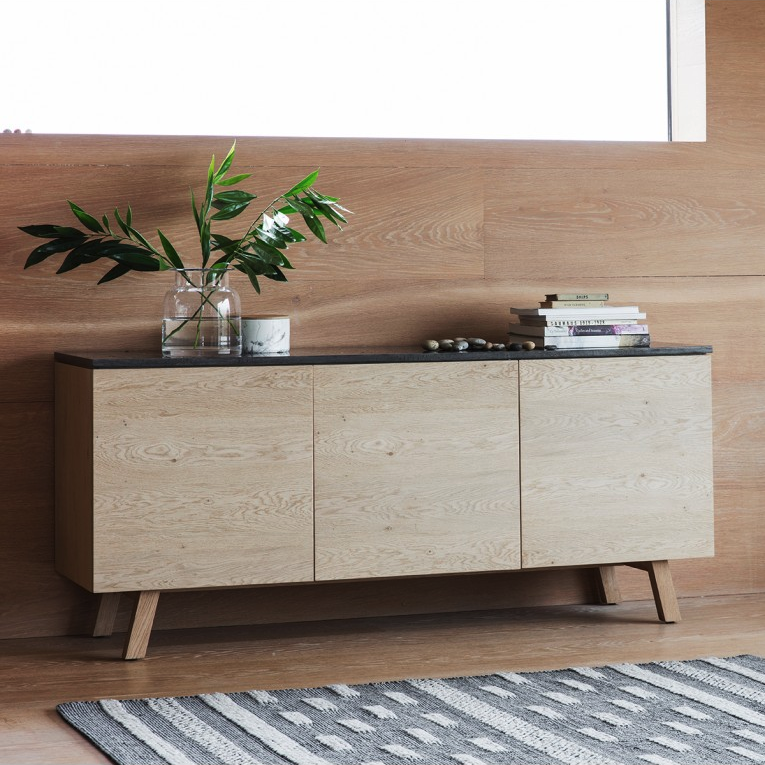 Munich 3 Door / 1 Drawer Large Sideboard