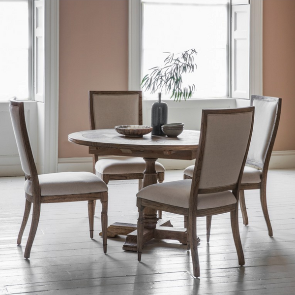 Washington Round Extending Dining Table