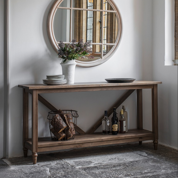 Windsor Large Trestle Console Table