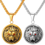 Lion Amulet Of Kings [Gold Or Silver]