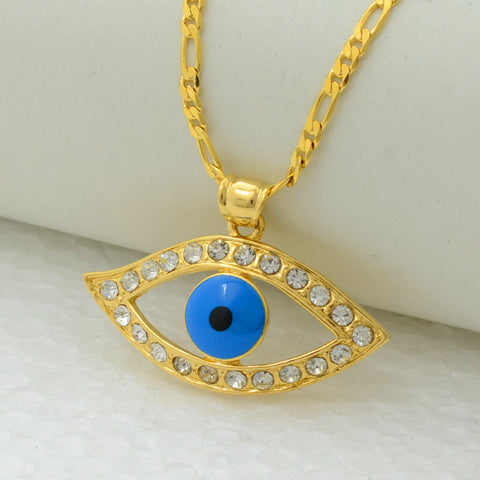 Gold Illuminati Eye Amulet