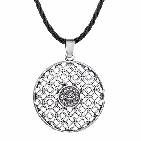 Sacred Geometry of the All Seeing Eye Necklace