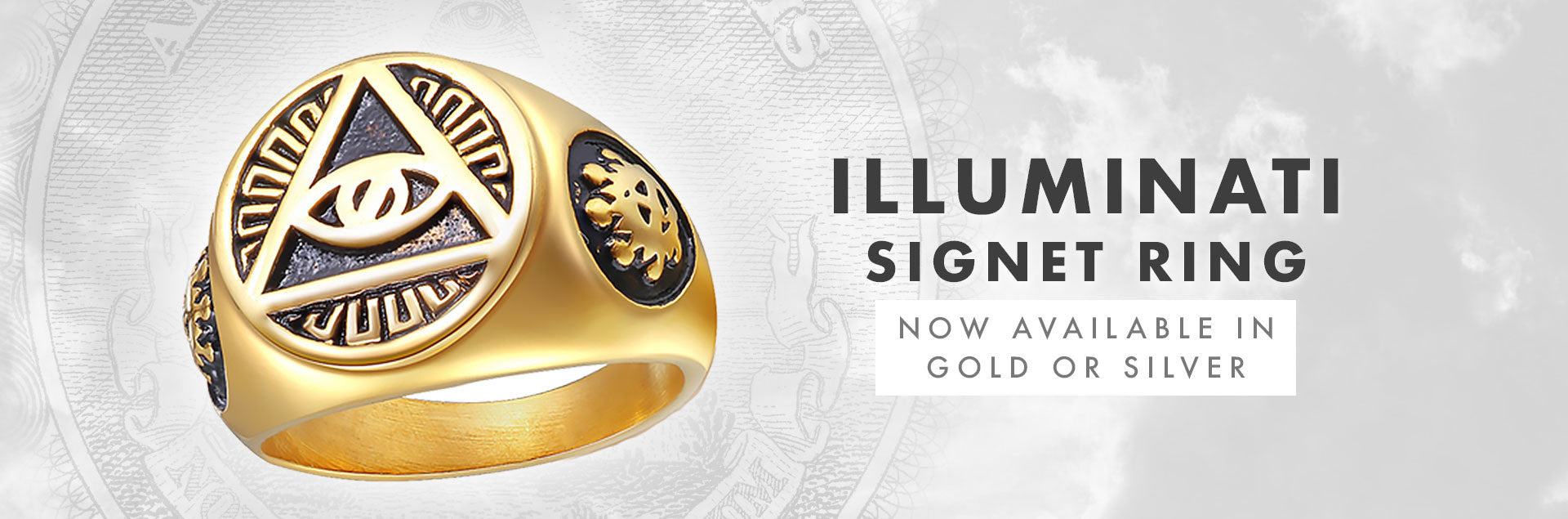 Illuminati Signet Ring