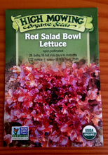 Load image into Gallery viewer, Lettuce - Red Salad Bowl
